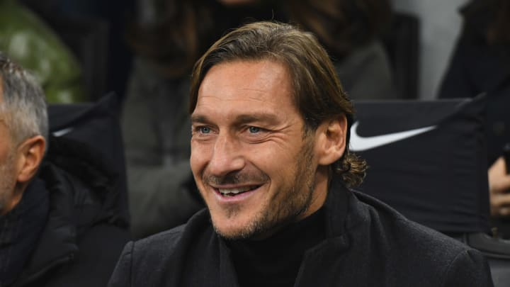 Francesco Totti has officially registered as a domiciled sports agent