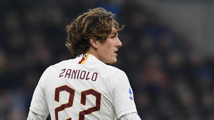 Nicolo Zaniolo actuellement à l'AS Roma pourrait revenir à l'Inter