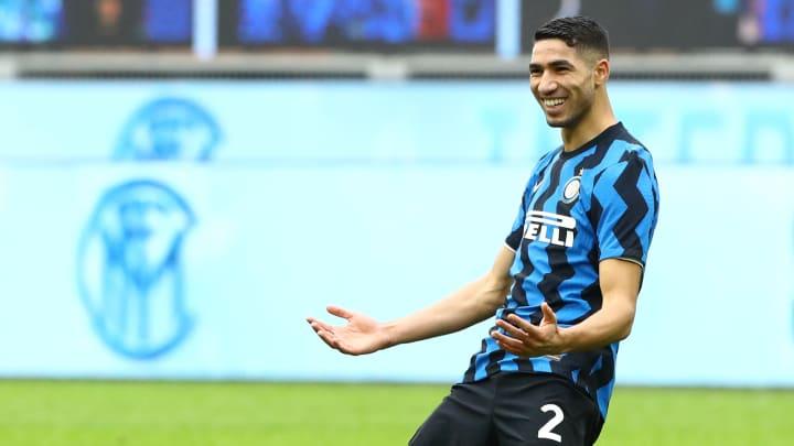Achraf Hakimi wird Inter Mailand mutmaßlich verlassen.