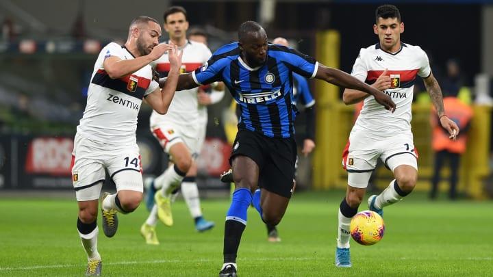 Romelu Lukaku bagged a brace as Inter thumped Genoa 4-0 earlier this season