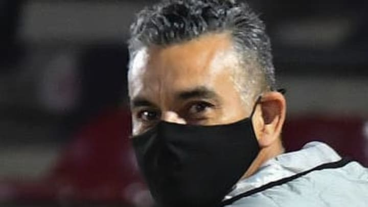 El entrenador Héctor Altamirano.