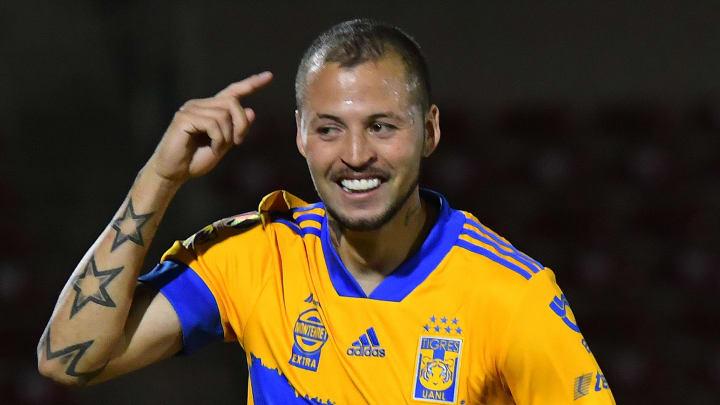 El jugador Nicolás López.
