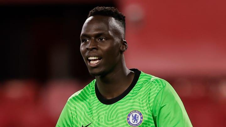 Edouard Mendy steht mit Chelsea im Finale der Champions League