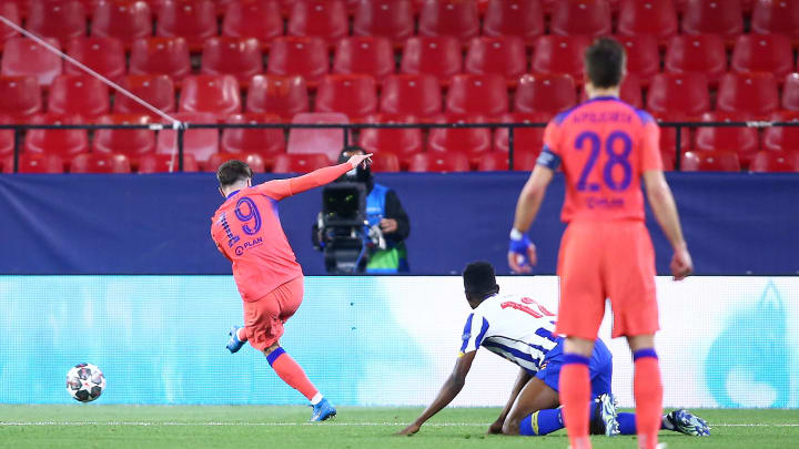 Mount scored a brilliant goal against Porto