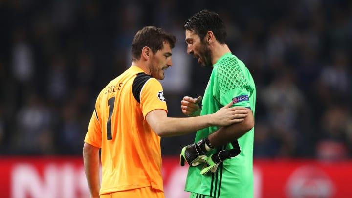 Casillas y Buffon