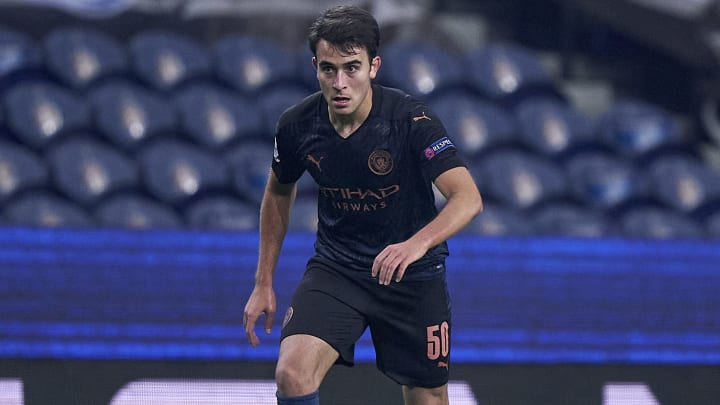 Eric Garcia is going nowhere just yet