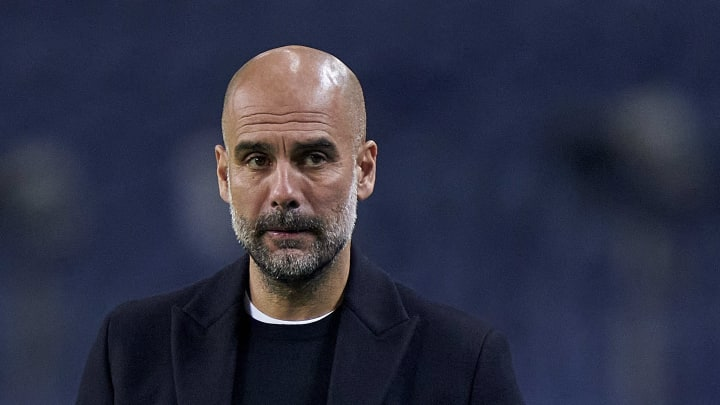 Pep Guardiola has dismissed ideas of signing a new striker in January