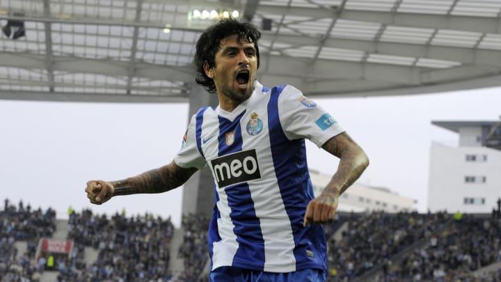 FC Porto's Argentinian midfielder Lucho