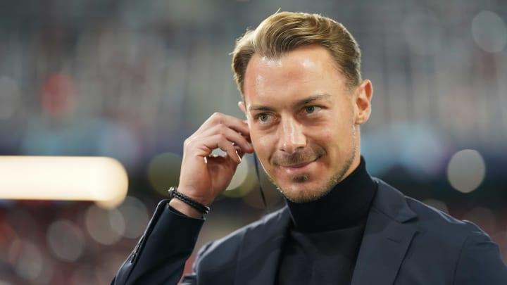 Salzburgs Trainer Matthias Jaissle am Rande des Champions-League-Spiels gegen den OSC Lille