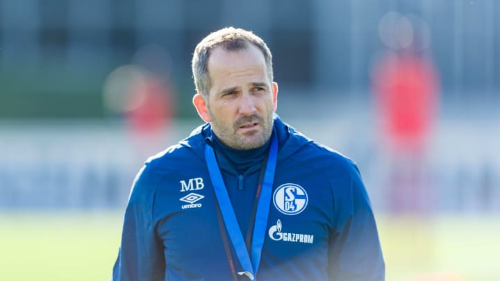 Manuel Baum sieht sich auf Schalke einem langfristigen Projekt gegenüber
