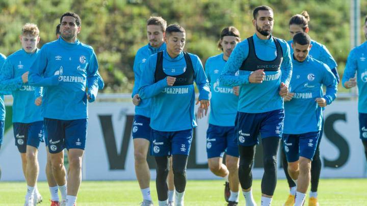 Omar Mascarell, Bastian Oczipka, Amine Harit, Benjamin Stambouli, Nabil Bentaleb, Levent Mercan
