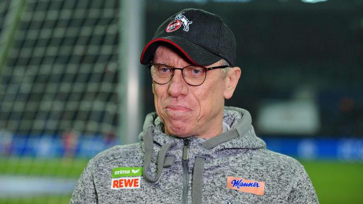 In der laufenden Saison will Peter Stöger nicht zum 1. FC Köln zurückkehren