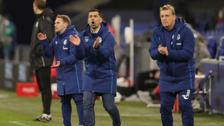 Das Trainerteam um Dimitrios Grammozis zeigte sich sehr engagiert