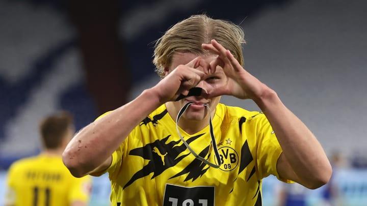 El noruego ha marcado 43 goles en 43 partidos desde que llegó a club alemán.