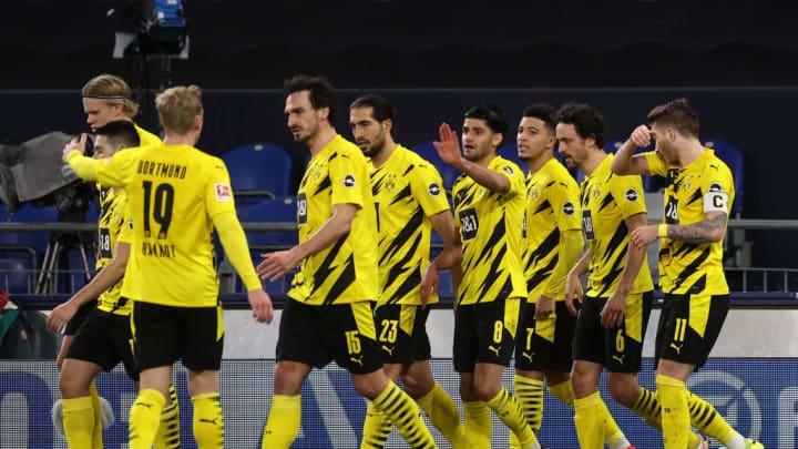 Zum vierfachen Jubeln reichte Dortmund ein solider Auftritt