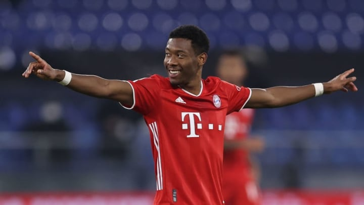 David Alaba  wouldn't confirm his future employers