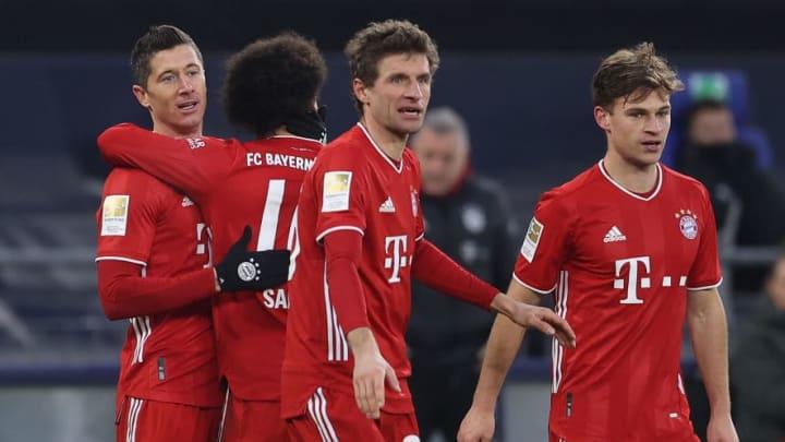 Lewandowski, Sané, Müller und Kimmich - immer da, wenn es drauf ankommt