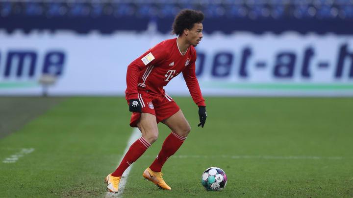 Nach seiner Auswechslung auf Schalke war Leroy Sané erneut frustriert