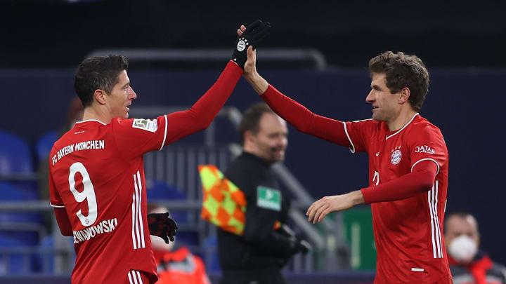 Lewandowski und Müller dürfen erneut jubeln