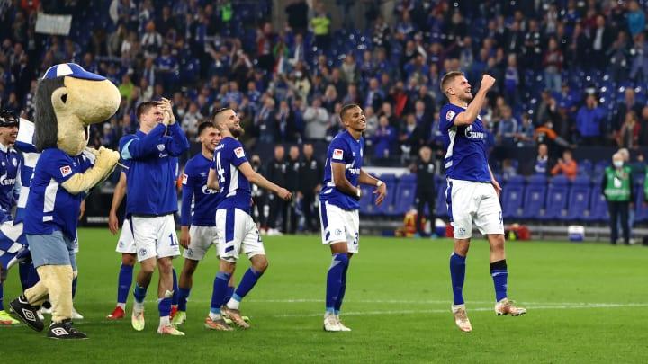 Schalke durfte erneut einen Sieg feiern