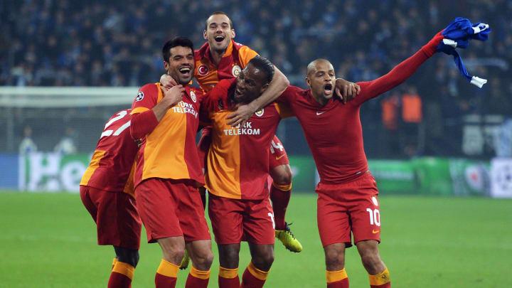 Didier Drogba, Goekhan Zan, Wesley Sneijder, Felipe Melo