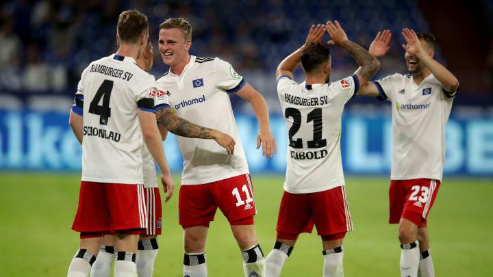 Der Hamburger SV spielt in der ersten Pokalrunde in Braunschweig.