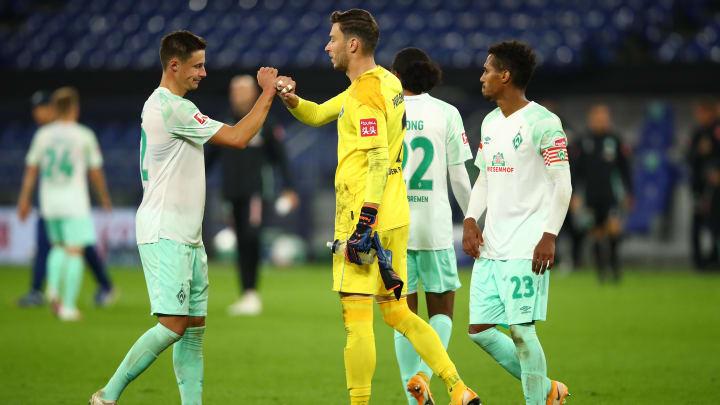 Torwart Jiri Pavlenka (28) könnte Werder im Sommer nach vier Jahren verlassen
