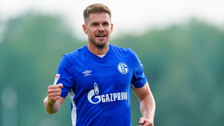 Simon Terodde sollte Schalke - theoretisch - in die Bundesliga begleiten