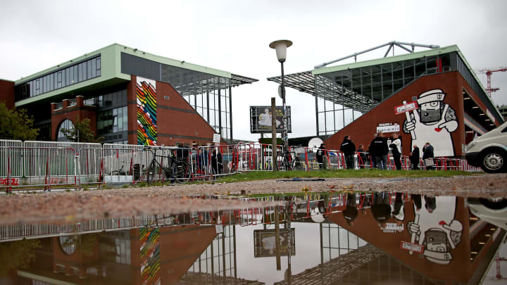 Das Millerntorstadion auf St. Pauli