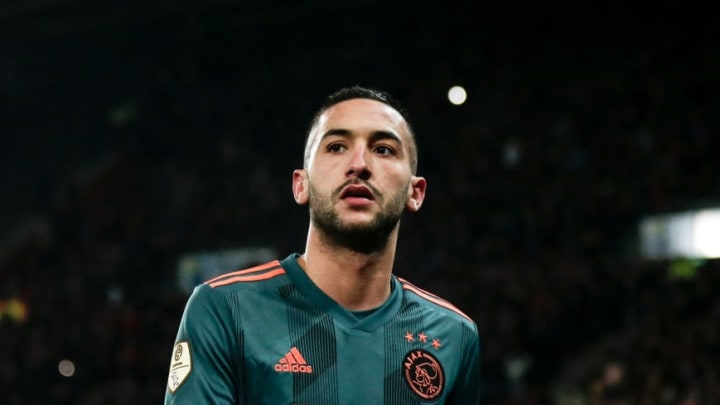 Ziyech's attacking output at Ajax has been brilliant in recent years