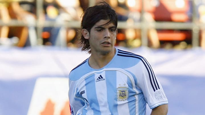 Banega at the Under-20 2007 World Cup in Canada