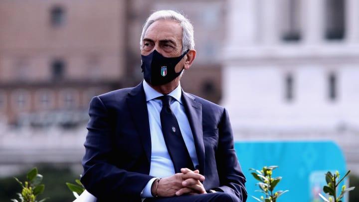 Italiens Verbandschef Gabriele Gravina.