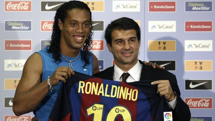 Ronaldinho was the best signing made by Joan Laporta during his first spell as Barcelona president