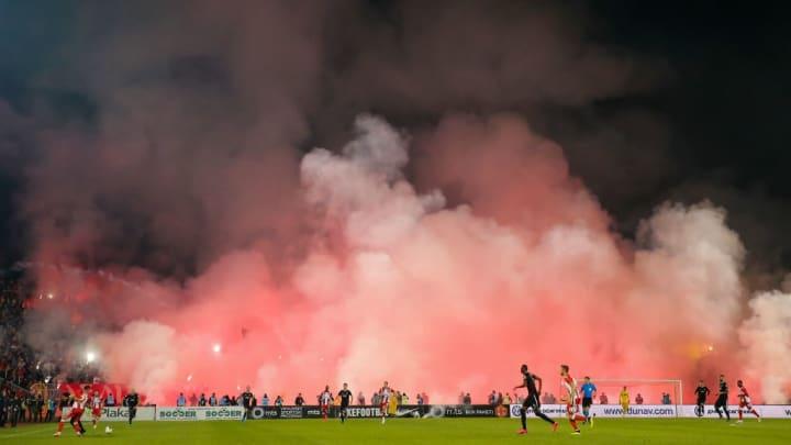 Pour avoir de l'ambiance, le derby de Belgrade est parfait !