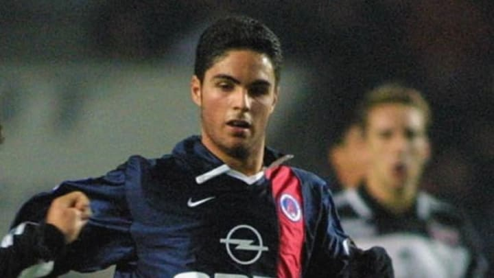 Mikel Arteta spent some time on loan a PSG from Barcelona