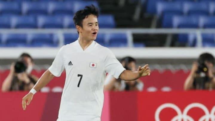 FOOTBALL-OLY-2020-2021-TOKYO-FRA-JPN