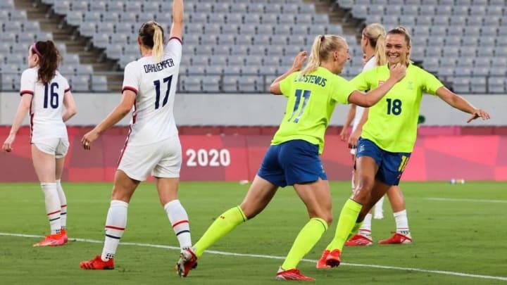 Suécia Estados Unidos olimpiadas