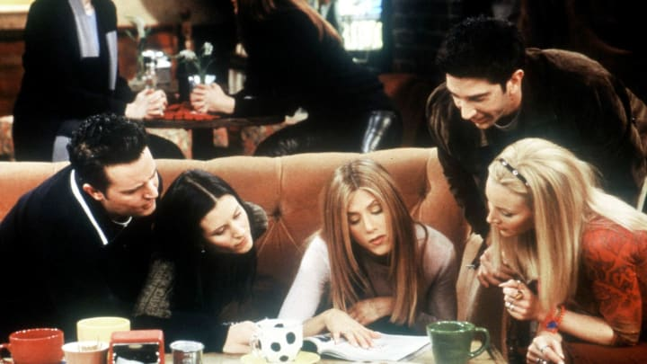 'Friends' fan theory explains how the group always got the orange chair at Central Perk.