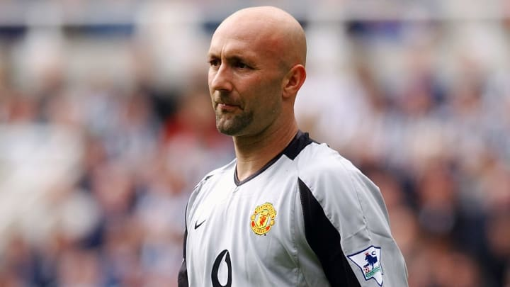 Fabien Barthez of Manchester United in action