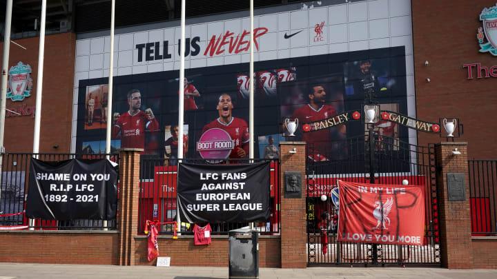 Respon supporter terhadap European Super League