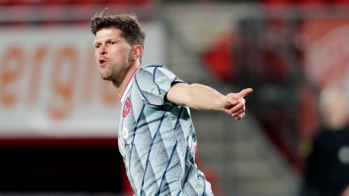 Klaas-Jan Huntelaar traf am Donnerstag nach Einwechslung doppelt