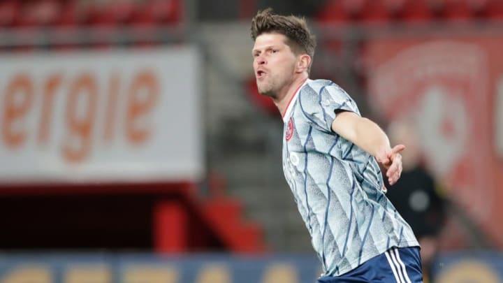 Klaas-Jan Huntelaar a évolué à l'Ajax Amsterdam à deux reprises, avec des buts à chaque fois importants.