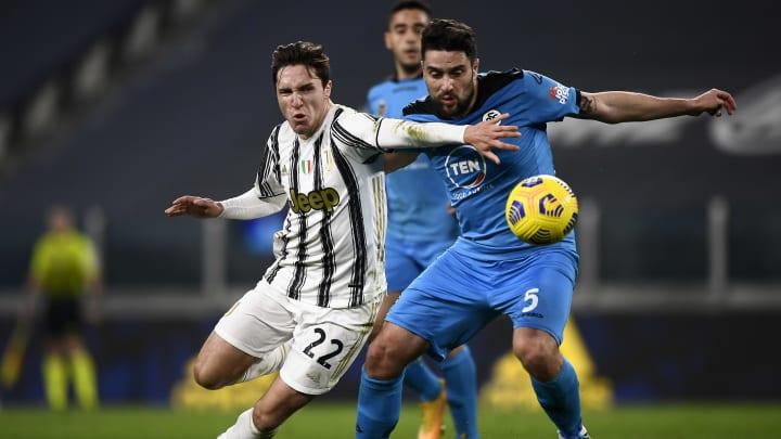 Chiesa está fazendo muita falta para a Juventus
