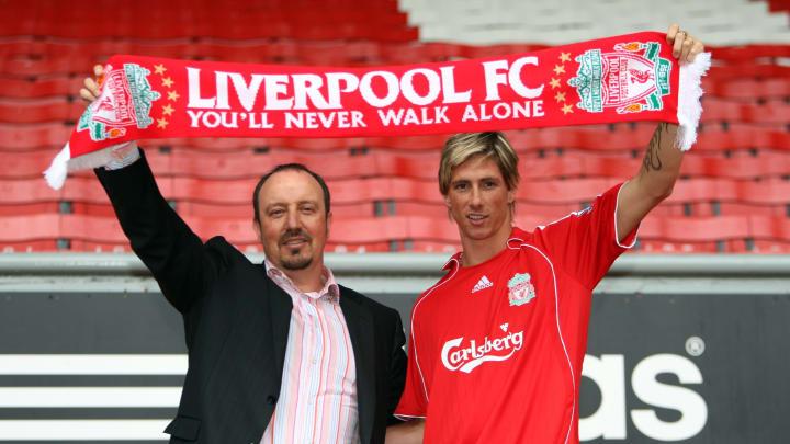 Fernando Torres signed for Liverpool in 2007.
