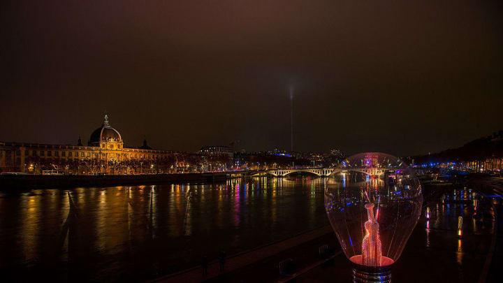 'Fete des Lumieres' - The Festival Of Lights In Lyon