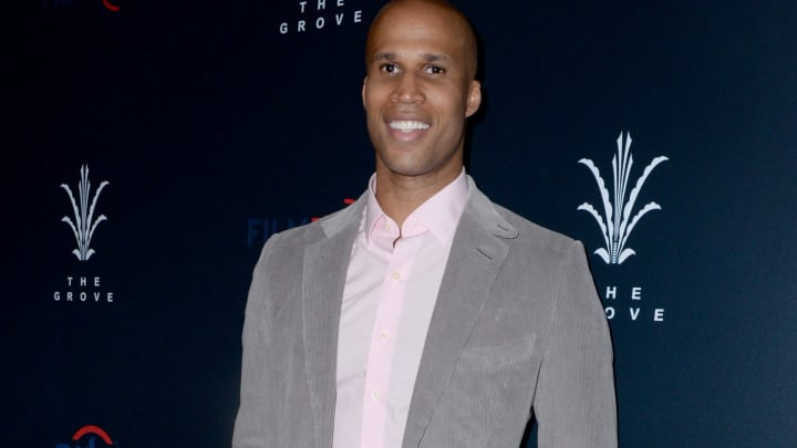 """LOS ANGELES, CA - APRIL 23:  Richard Jefferson attends FilmRise, Citi And The Grove Host Overbrook Entertainment's And Mental Telepathy Pictures' """"Sprinter"""" Premiere at Pacific Theatres at The Grove on April 23, 2019 in Los Angeles, California.  (Photo by Vivien Killilea/Getty Images for FilmRise)"""