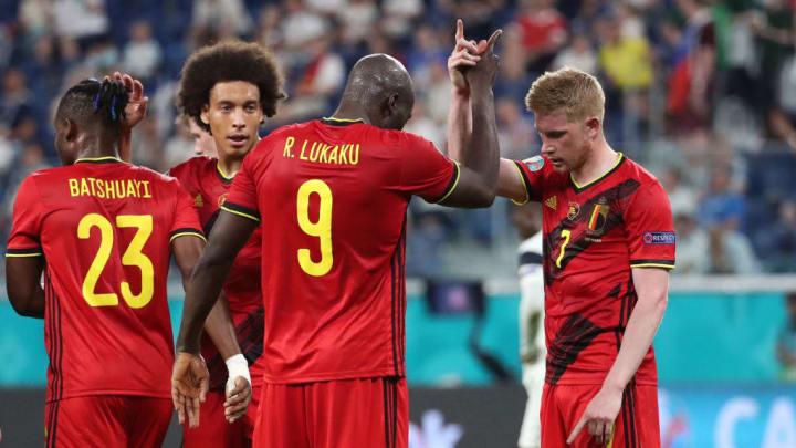 Romelu Lukaku, Kevin De Bruyne Bélgica Portugal Eurocopa