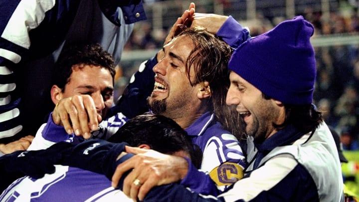 Fiorentina celebrate