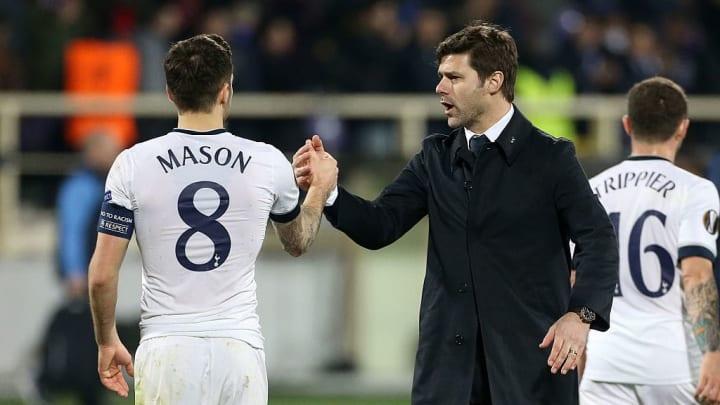 Mauricio Pochettino a permit à Ryan Mason de joueur pour Tottenham, son club de coeur.