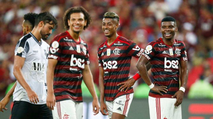 Willian Arão, Bruno Henrique, Lincoln
